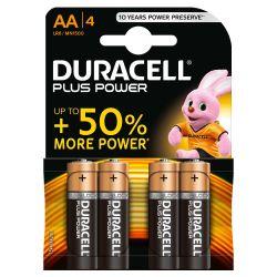 4 Pile Stile AA DURACELL Plus Power  - 1