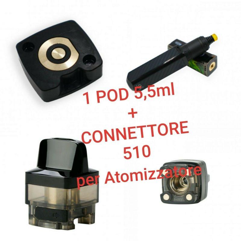 Serbatoio POD + Adattatore 510 VooPoo Vinci
