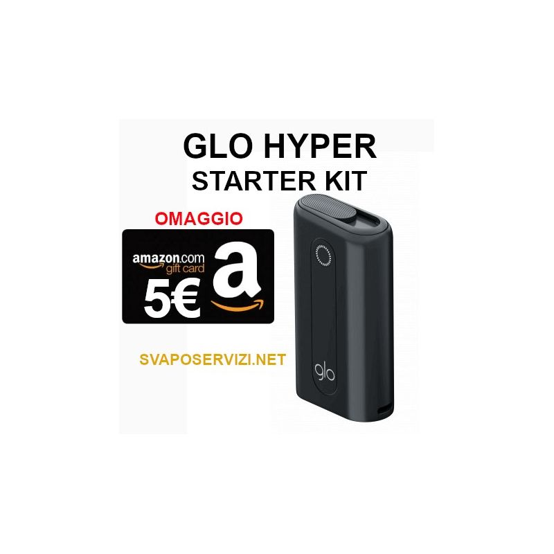 GLO Hyper starter kit buono amazon da 5€ in omaggio