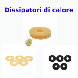 Dissipatore di calore 22/24 mm a disco