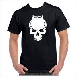 Maglietta Teschio resistenza ohm coil svapo  - 1