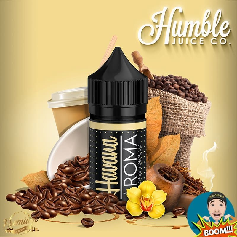 Coffee Tobacco (30ml) Havana Juice Co.  - 1