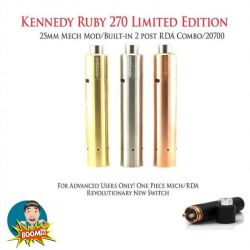 Ruby 25 270 Combo  Edizione Limitata 25mm di Kennedy Vapor Kennedy Vapor - 1