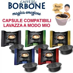 Capsule Caffè Borbone Lavazza ®* A Modo Mio ®*