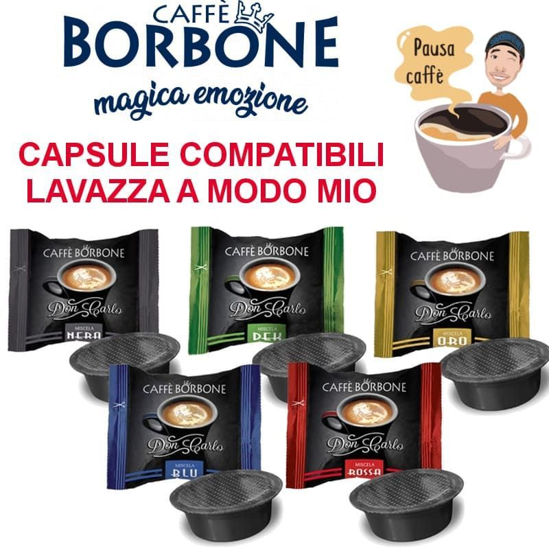 Capsule Caffè Borbone Lavazza ®* A Modo Mio ®*  - 1