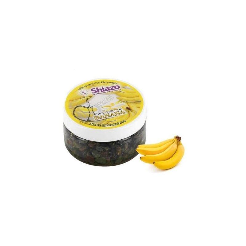 Pietre aromatizzate narghilè Shiazo 100gr Banana Shiazo - 1