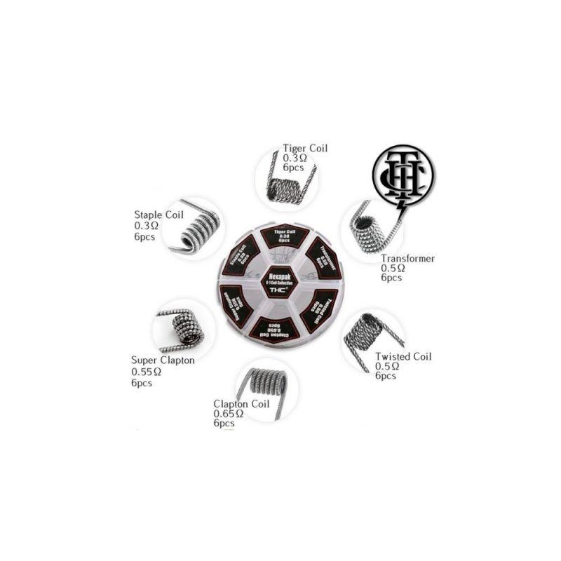 HEXAPACK COILS - THUNDERHEAD CREATIONS