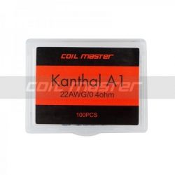 COIL MASTER PRE-BUILT KANTHAL A1 WIRE (100 COIL)
