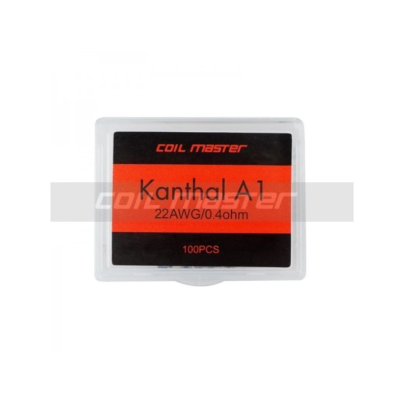 COIL MASTER PRE-BUILT KANTHAL A1 WIRE (100 COIL) - 1